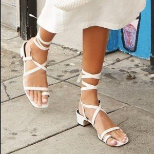 F21 Strappy Open Toe Sandal